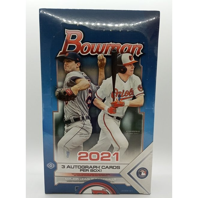 2021 Bowman Baseball Jumbo Hobby Box