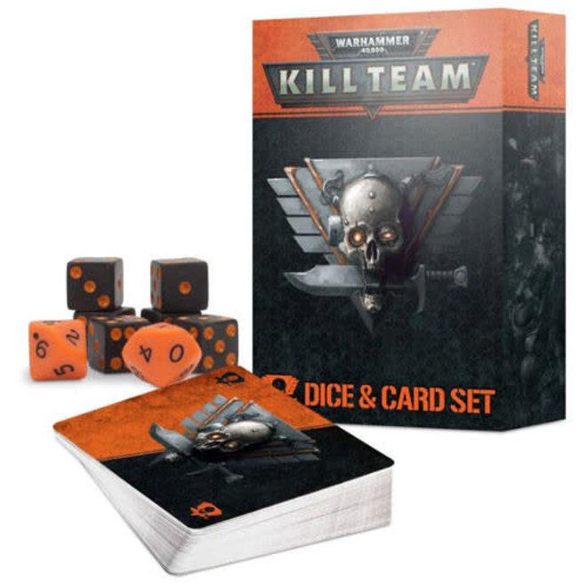 Warhammer 40,000: Kill Team - Dice & Card Set