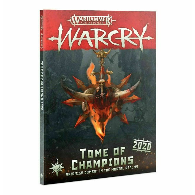 Warhammer Age of Sigmar: Warcry - Tome of Champions 2020 Rulebook