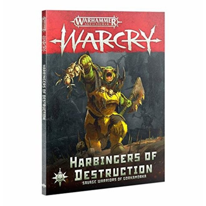 Warhammer Age of Sigmar: Warcry - Harbingers of Destruction Rulebook