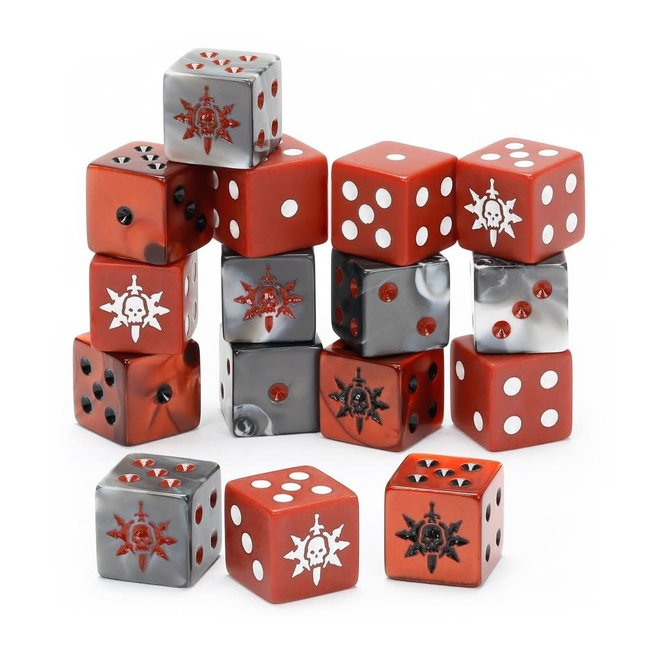 WHAoS: Warcry - Agents of Chaos Dice