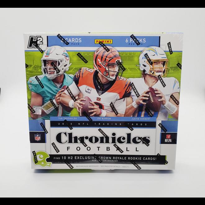 2020 Panini Chronicles Football Hobby Hybrid H2 Box