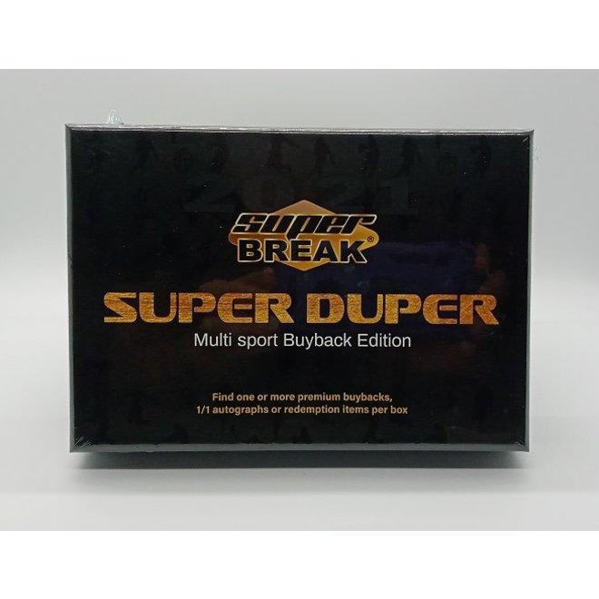 2021 Super Break Super Duper Hobby Box