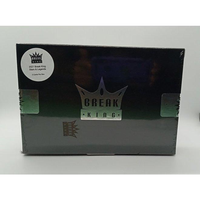 2021 Break King Stars & Legends Hobby Box