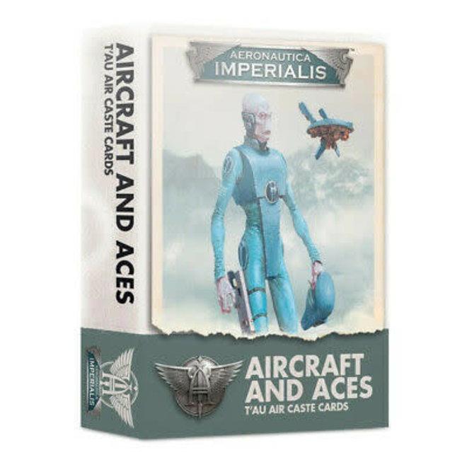 Warhammer 40,000: Aeronautica Imperialus - Aircraft & Aces: T'au Air Caste Cards