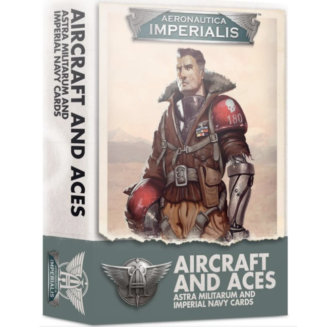 Warhammer 40,000: Aeronautica Imperialus - Aircraft & Aces: Astra Militarum and Imperial Navy Cards