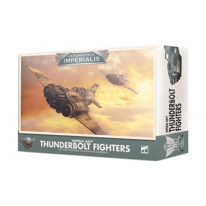Warhammer 40,000: Aeronautica Imperialus - Imperial Navy Thunderbolt  Fighters