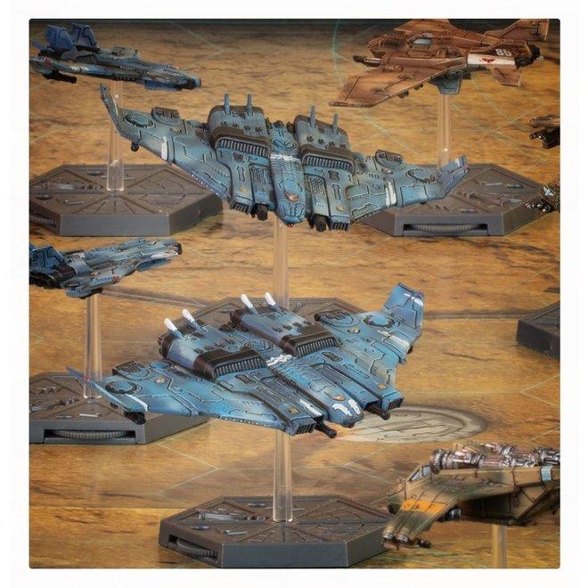 Warhammer 40,000: Aeronautica Imperialus - T'au Tiger Shark Fighter-Bombers
