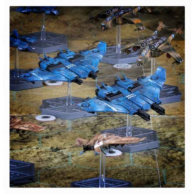 Warhammer 40,000: Aeronautica Imperialus - T'au Tiger Shark AX-1 Fighter-Bombers