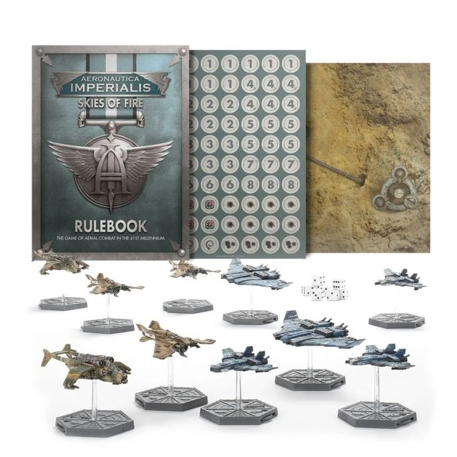 Warhammer 40,000: Aeronautica Imperialus - Skies of Fire Starter Set