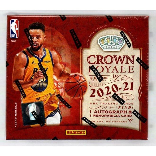 2020-21 Panini Crown Royale Basketball Hobby Box