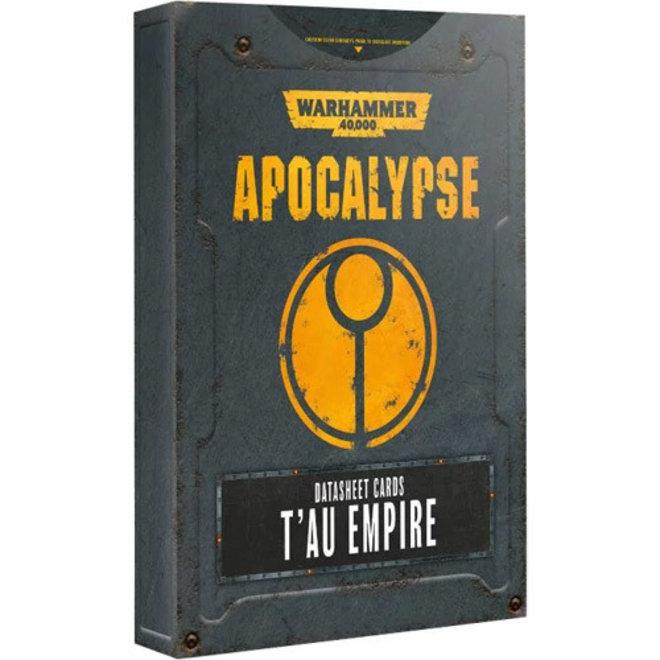 WH40K: Apocalypse - Datasheets: T'au Empire