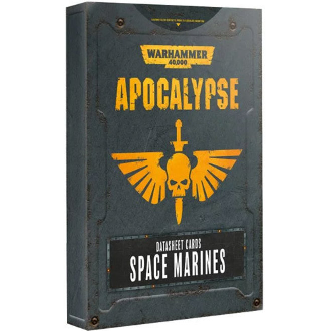 Warhammer 40,000: Apocalypse - Datasheets:  Space Marines