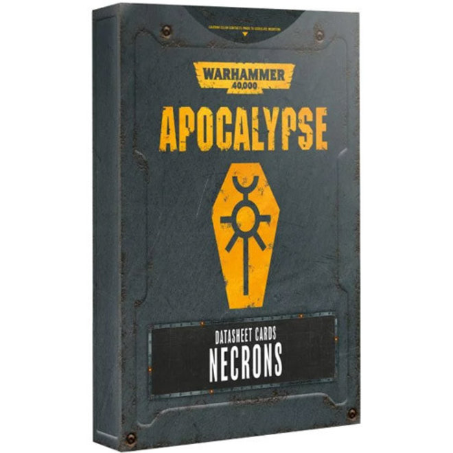Warhammer 40,000: Apocalypse - Datasheets: Necrons