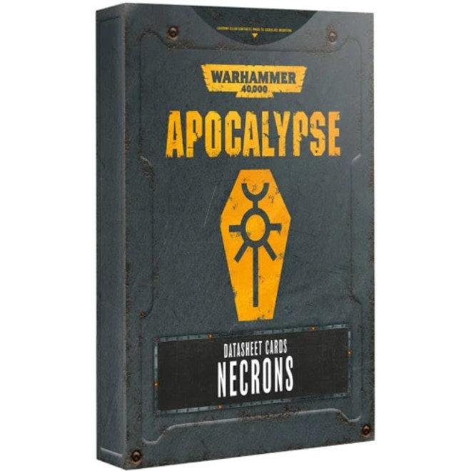 WH40K: Apocalypse - Datasheets: Necrons
