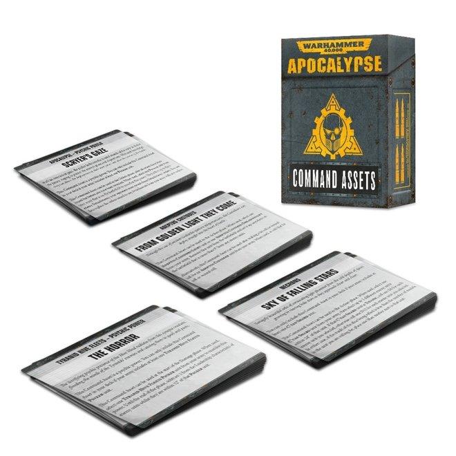 Warhammer 40,000: Apocalypse - Command  Assets