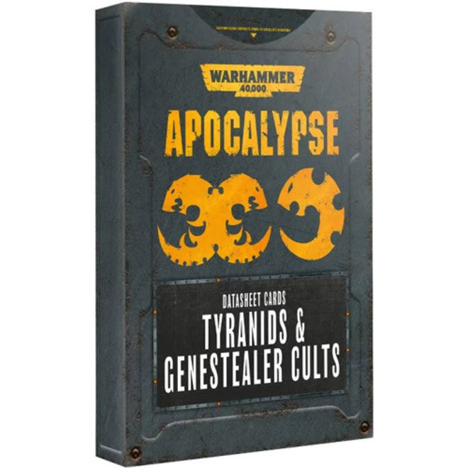 Warhammer 40,000: Apocalypse - Datasheets: Tyranids & Genestealer Cults