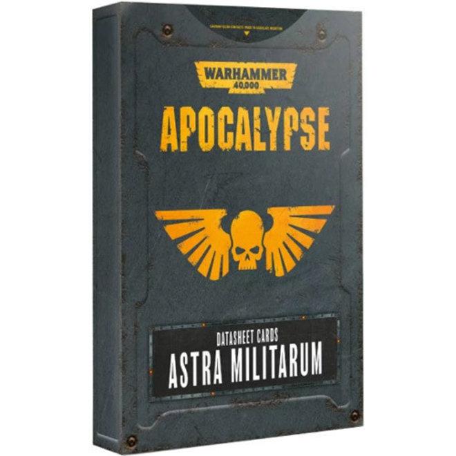 WH40K: Apocalypse - Datasheets: Astra Militarum