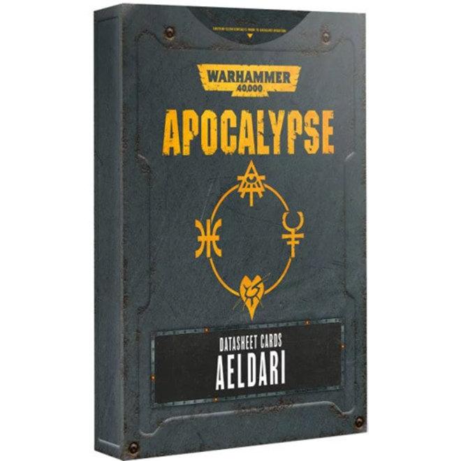 WH40K: Apocalypse - Datasheets: Aeldari