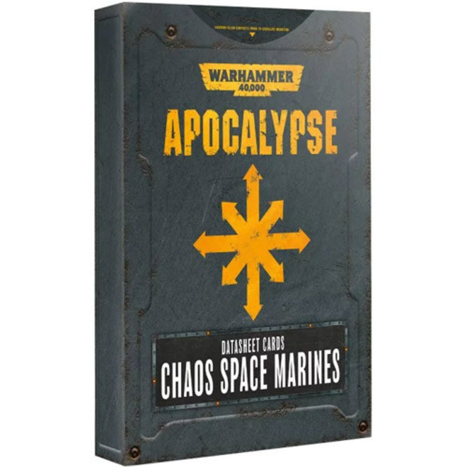 WH40K: Apocalypse - Datasheets: Chaos Space Marines