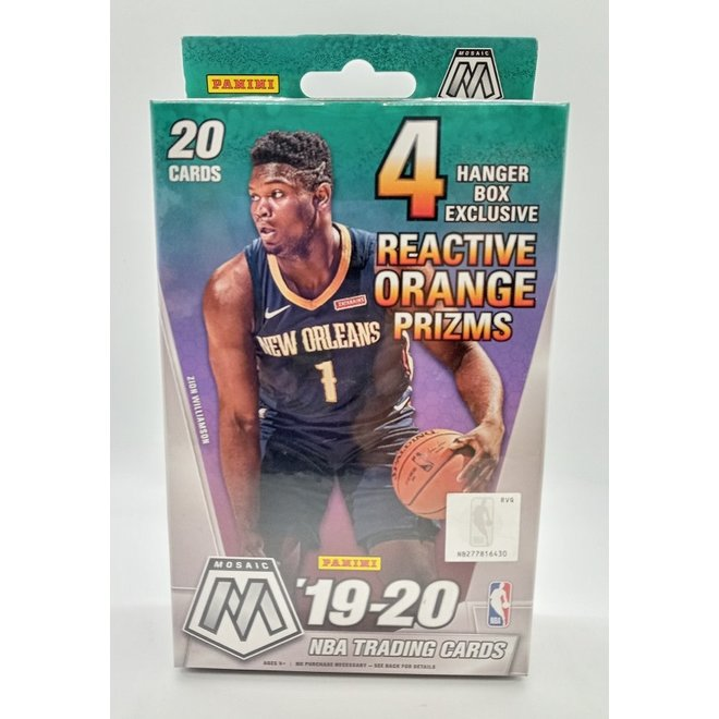 2019-20 Panini Mosaic Basketball Hanger Box