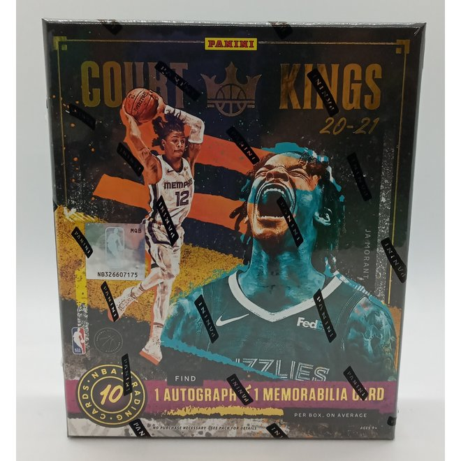 2020-21 Panini Court Kings Basketball Hobby Box