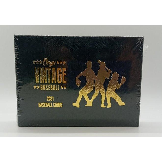 2021 Onyx Vintage Collection Baseball Hobby Box