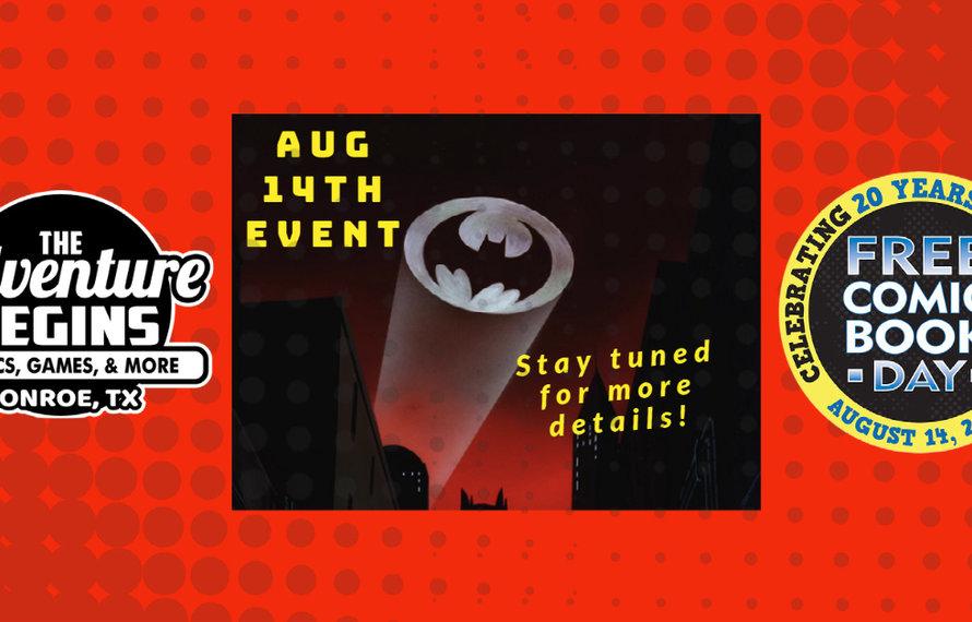 Comics Comics Comics | Free Comic Book Day August 14 2021