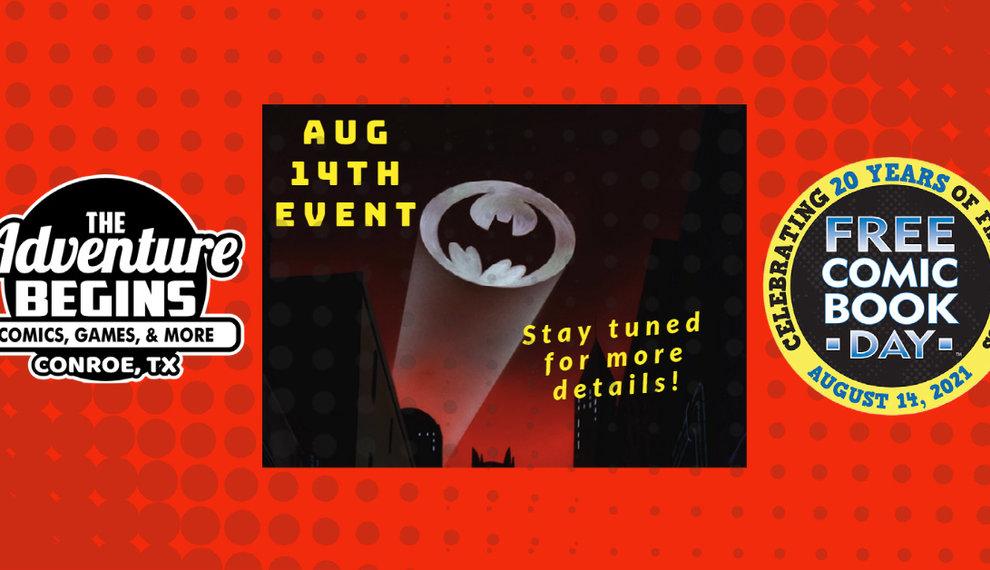Comics Comics Comics   Free Comic Book Day August 14 2021