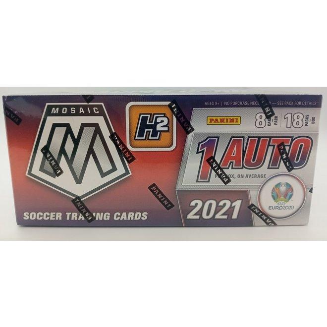 2020-21 Panini Mosaic Euro Soccer UEFA H2 Hybrid Hobby Box