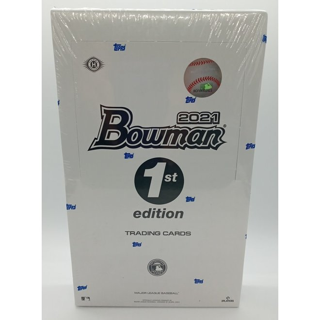 2021 Bowman Baseball First Edition Hobby Box