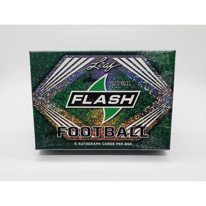 2021 Leaf Flash Football Hobby Box