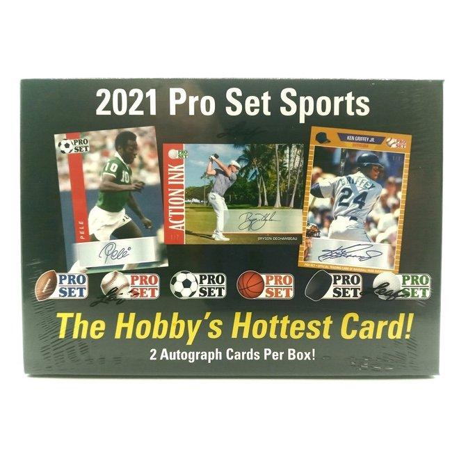 2021 Leaf Pro Set Sports Hobby Box
