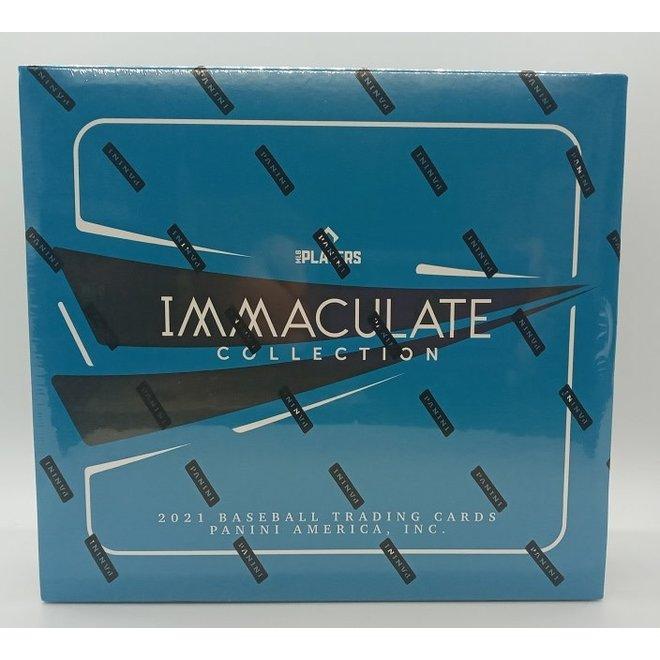 2021 Panini Immaculate Collection Baseball Hobby Box