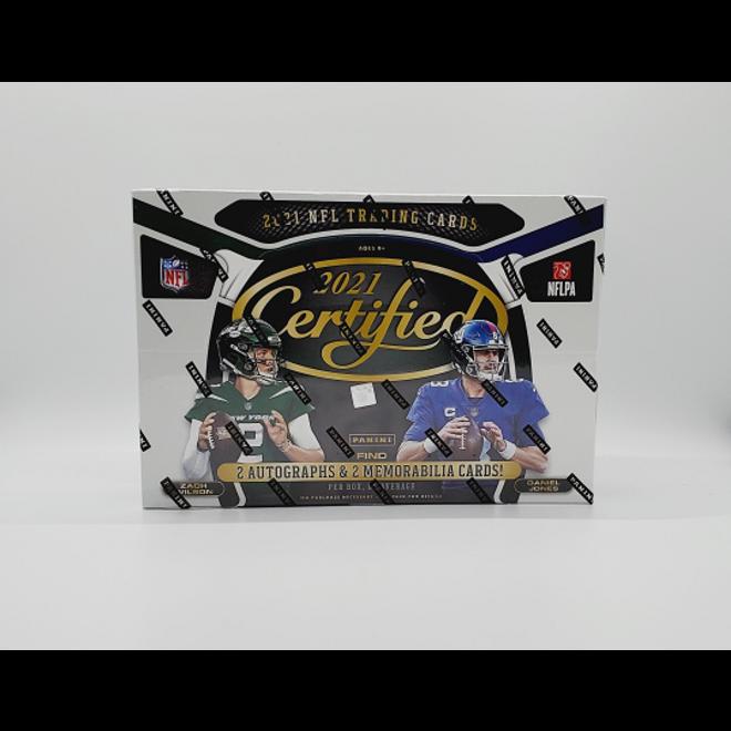 2021 Panini Certified Football Hobby Box