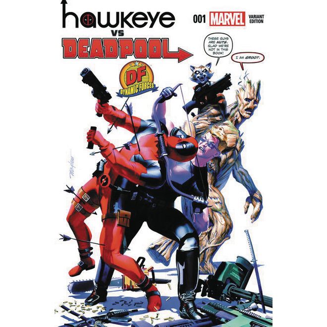 Hawkeye vs Deadpool #1