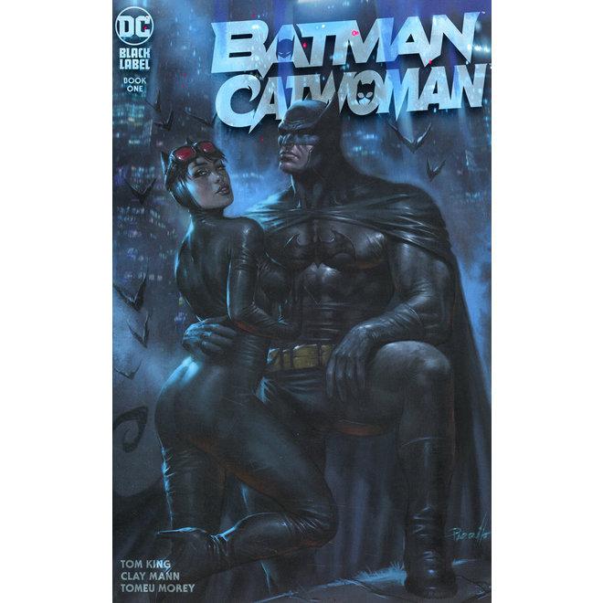 DF BATMAN CATWOMAN #1 PARRILLO EXC