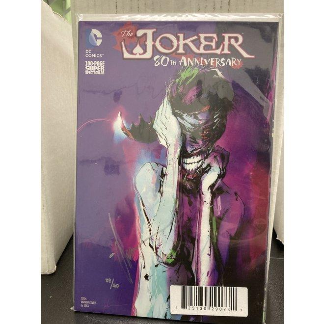DF JOKER 80TH ANNIVERSARY SUPER SPECTACULAR #1 JOCK SGN