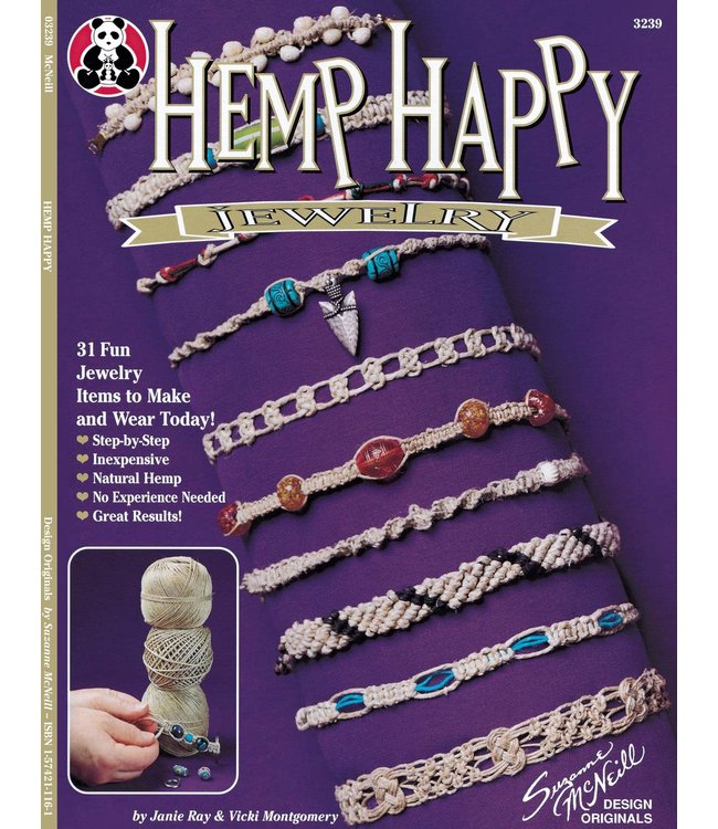 Hemp Happy Jewelery Book (Janie Ray & Vicki Montgomery)