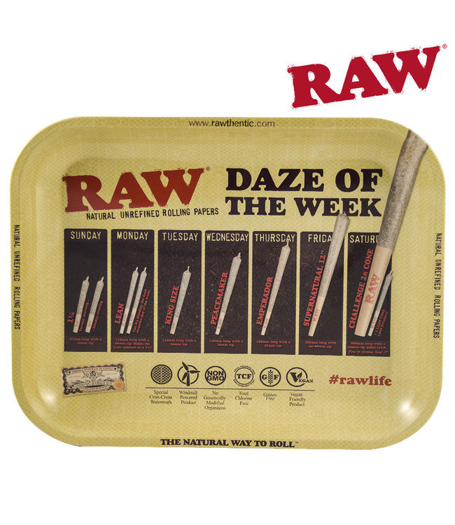 RAW RAW Daze of the Week Tray, Large