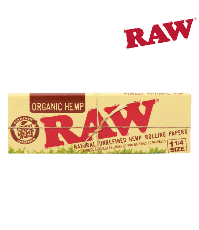 RAW RAW Organic Hemp 1¼ Papers