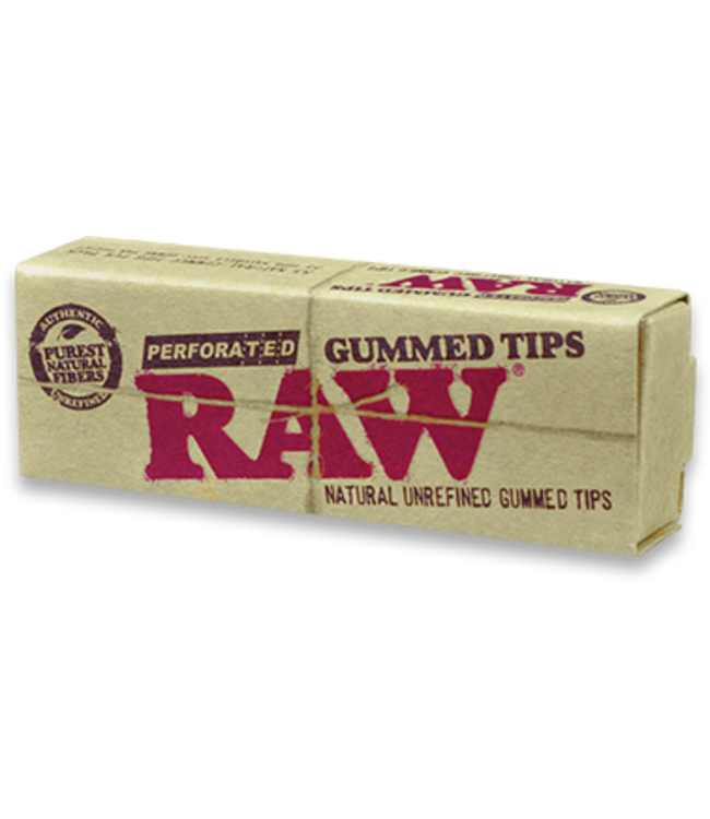 RAW RAW Tips Perforated Gummed