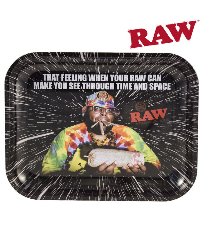 RAW RAW Time & Space Rolling Tray Large