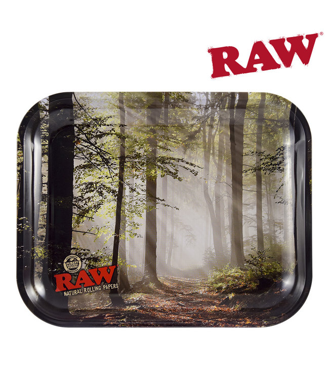 RAW RAW Smokey Forest Rolling Tray