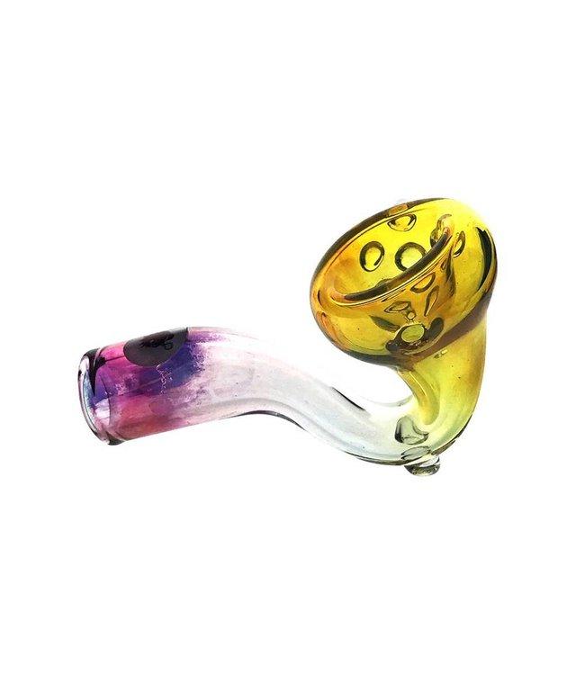 Blowfish Glassworks Blowfish Glass Silver & Gold Sherlock