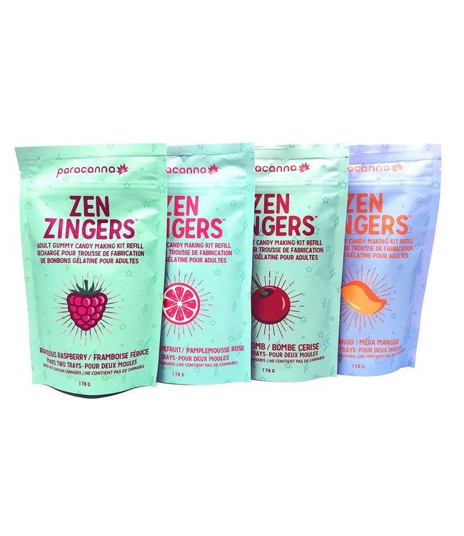Paracanna Zen Zingers Gummy Making Refills