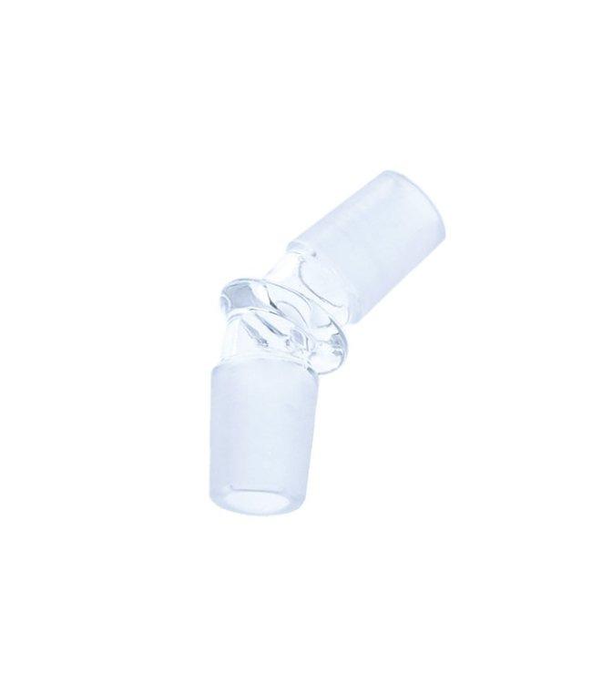 Hoss Glass Hoss Glass 45° Male-to-Male Adapter (No Logo)
