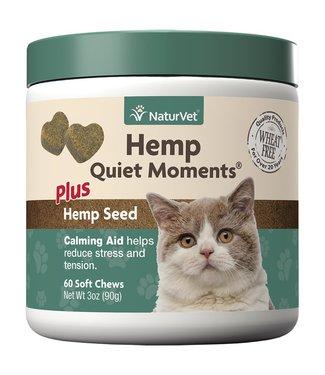 NaturVet Soft Chew Hemp Quiet Moments - Cat (90g)