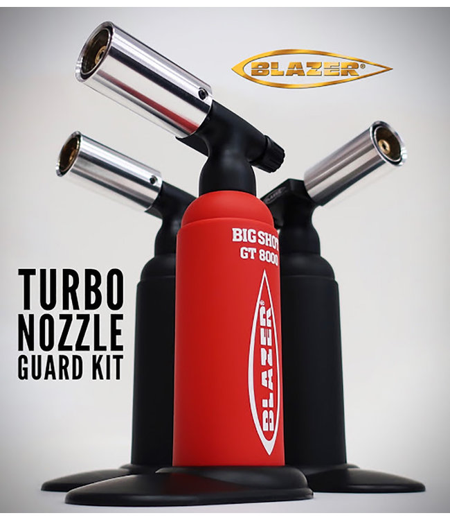 Blazer Blazer Big Shot Nozzle Guard Kit - Silver