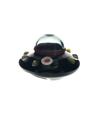 Blowfish Glassworks Blowfish Glass UFO Pipe w/ UV Colouring